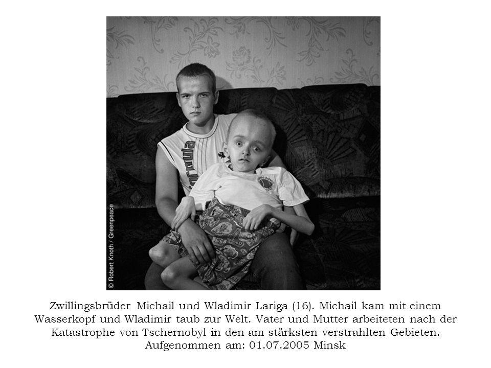 Zwillingsbrüder Michail und Wladimir Lariga (16)