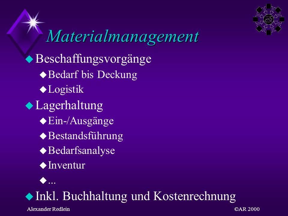 Materialmanagement Beschaffungsvorgänge Lagerhaltung