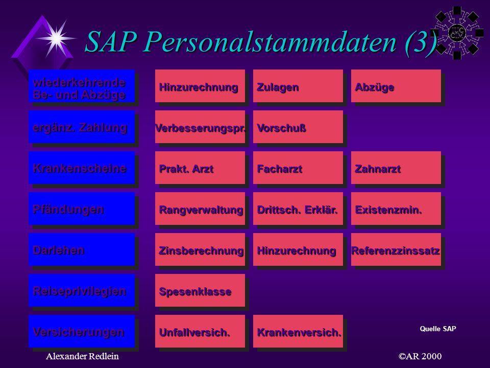 SAP Personalstammdaten (3)