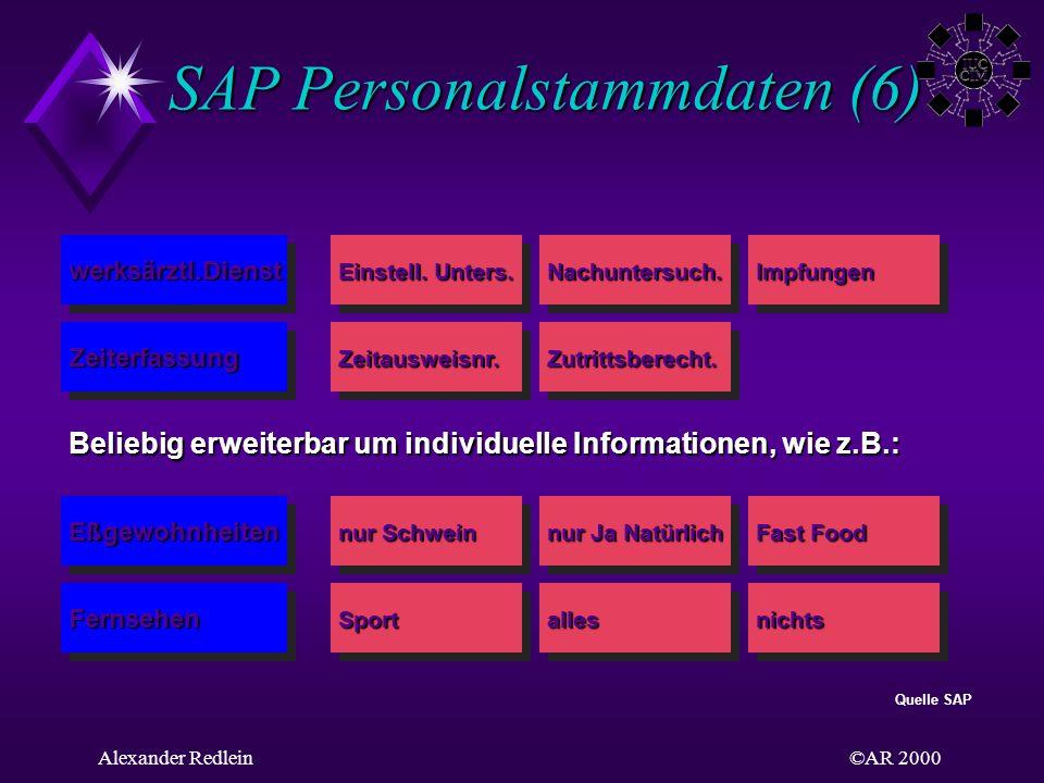 SAP Personalstammdaten (6)