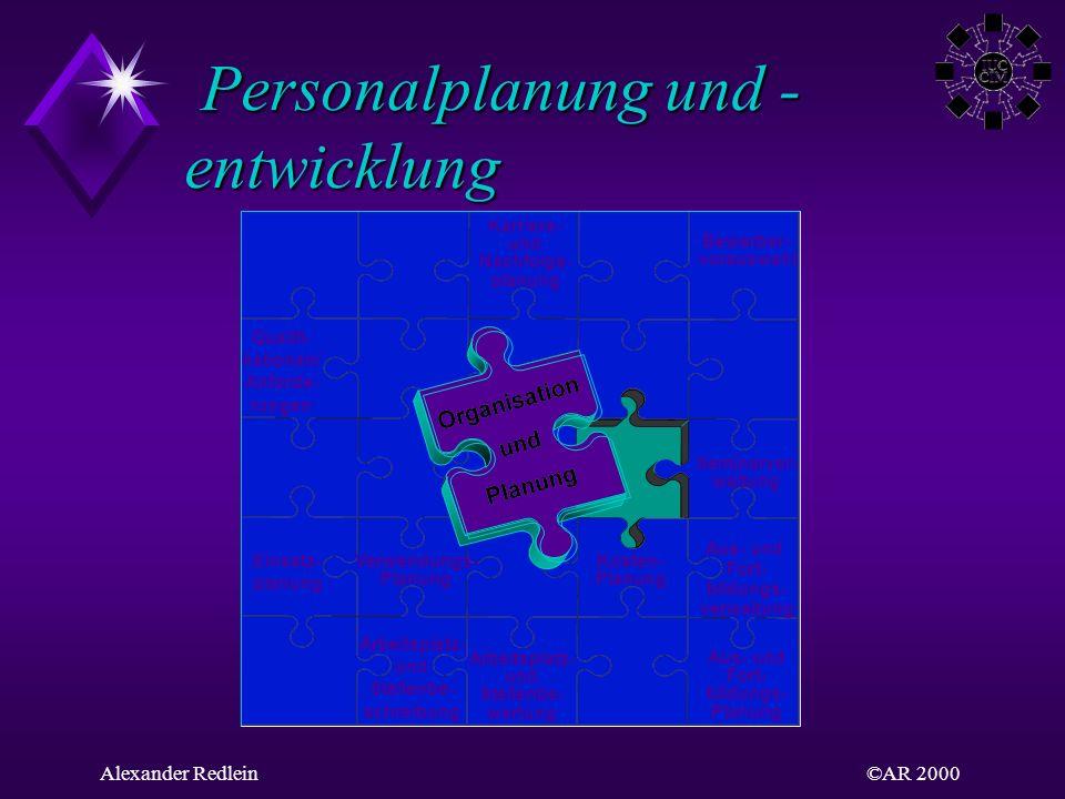 Personalplanung und -entwicklung