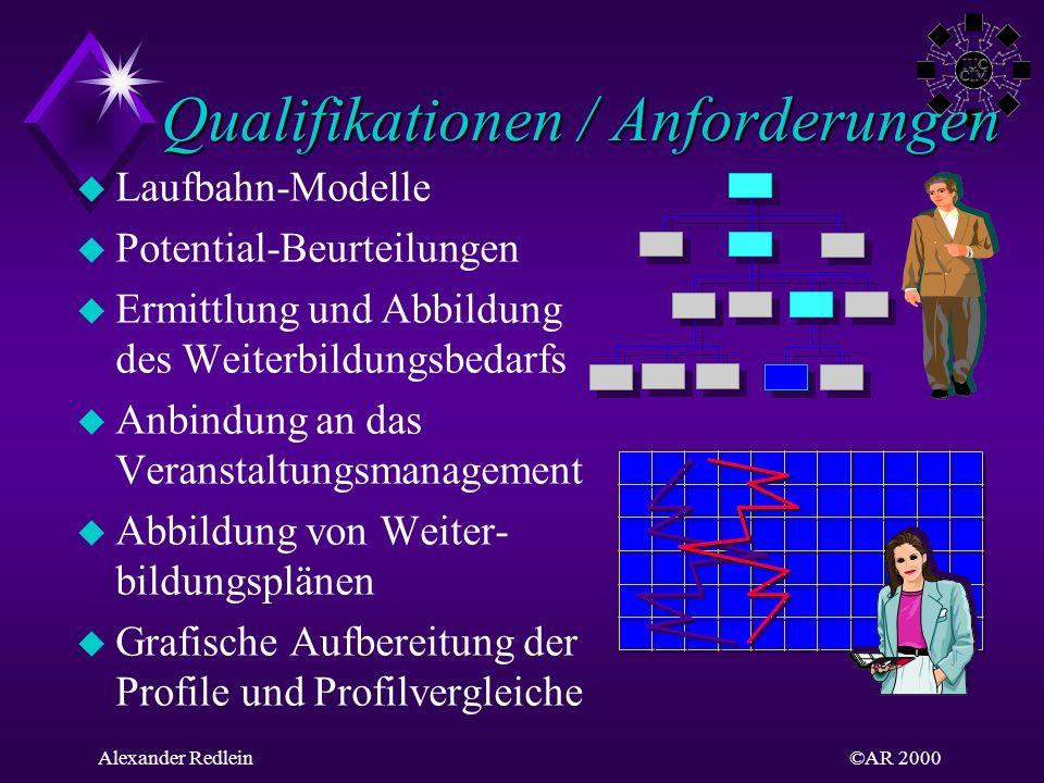 Qualifikationen / Anforderungen