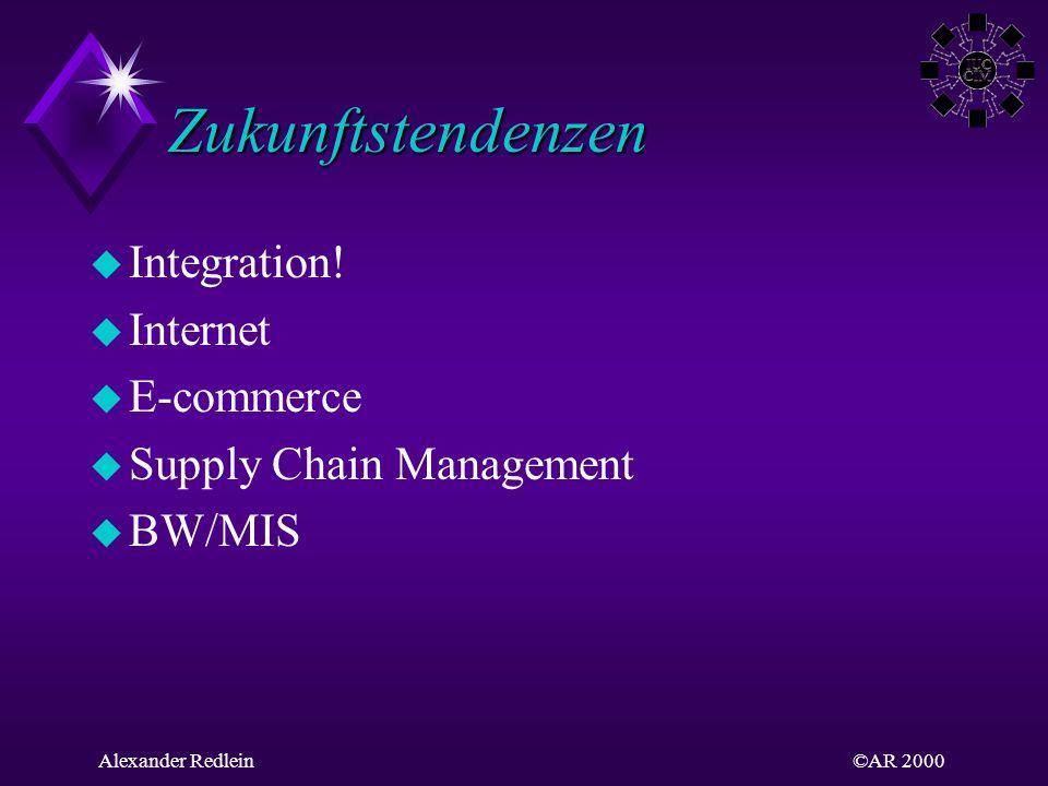 Zukunftstendenzen Integration! Internet E-commerce