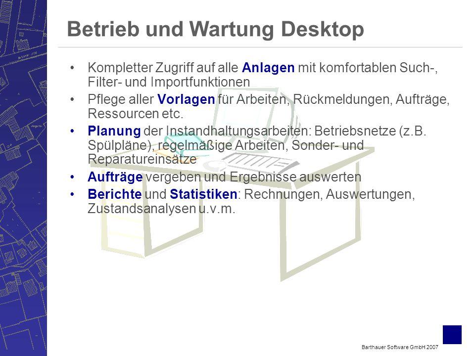 Betrieb und Wartung Desktop