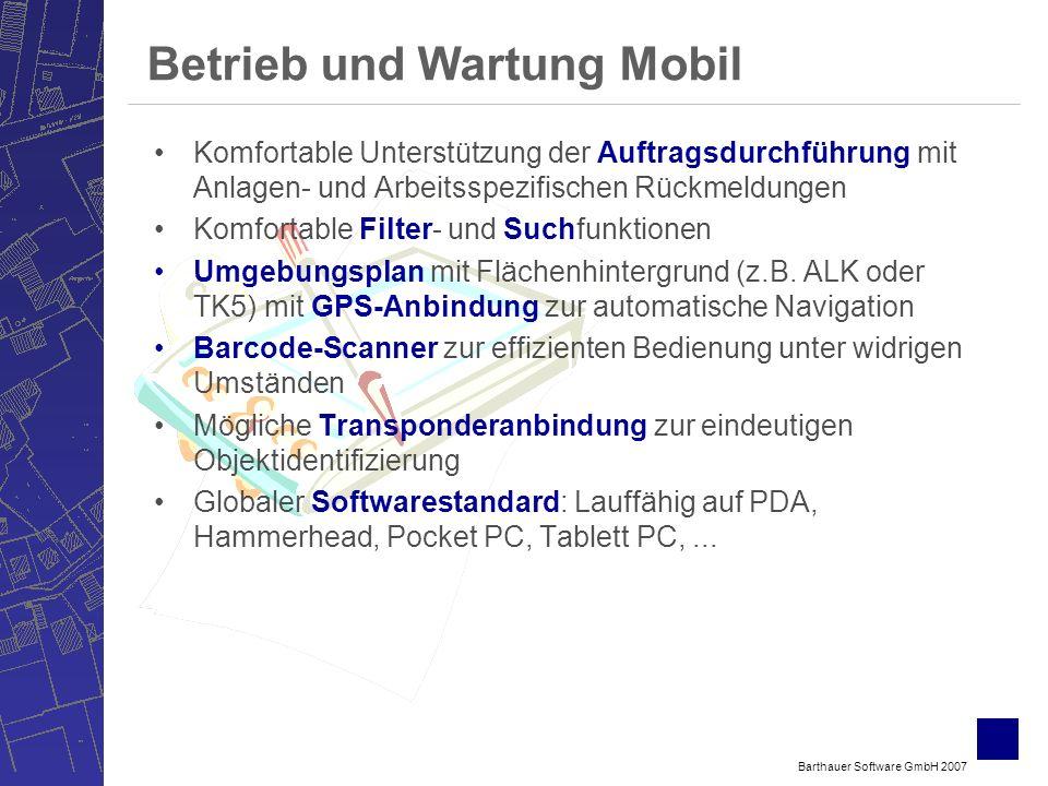 Betrieb und Wartung Mobil