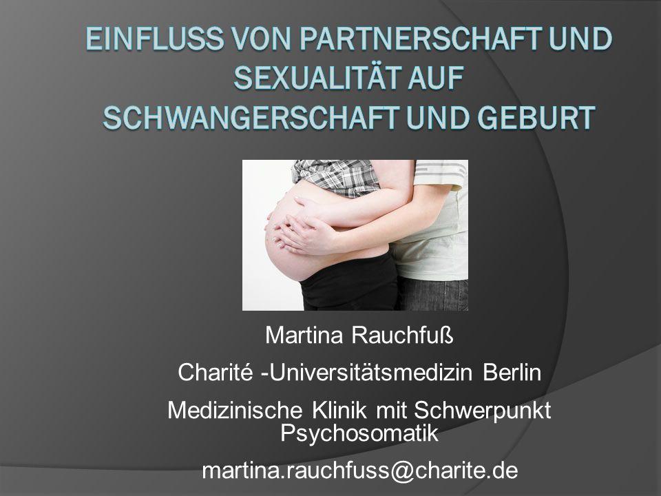 Einfluss von Partnerschaft und Sexualität auf Schwangerschaft und Geburt