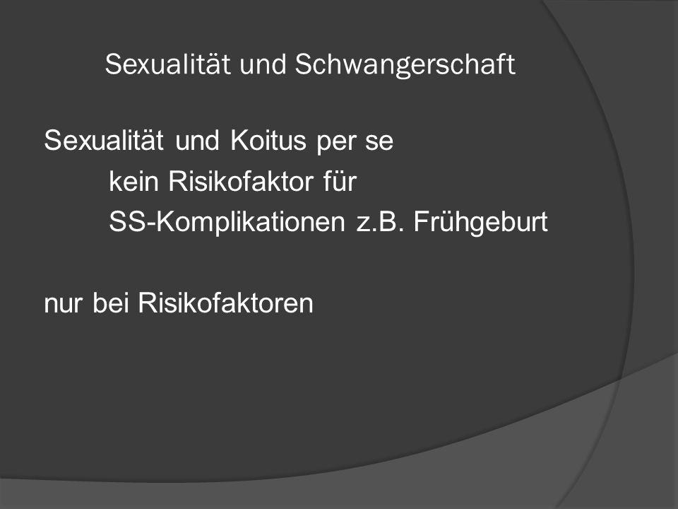 Sexualität und Schwangerschaft
