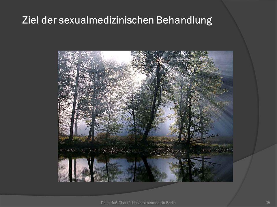 Ziel der sexualmedizinischen Behandlung