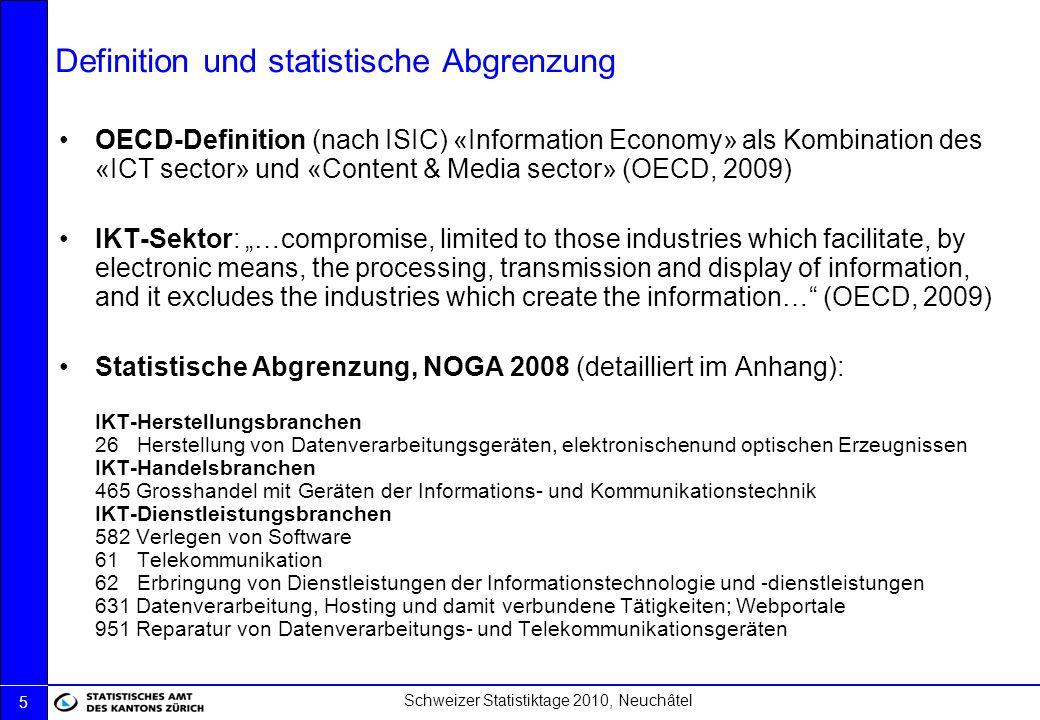 Definition und statistische Abgrenzung