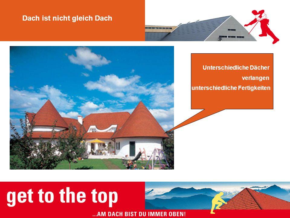 Dach ist nicht gleich Dach