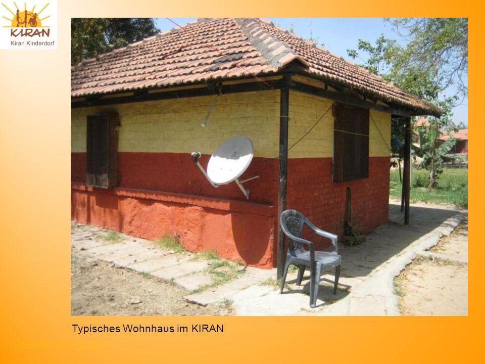 Typisches Wohnhaus im KIRAN