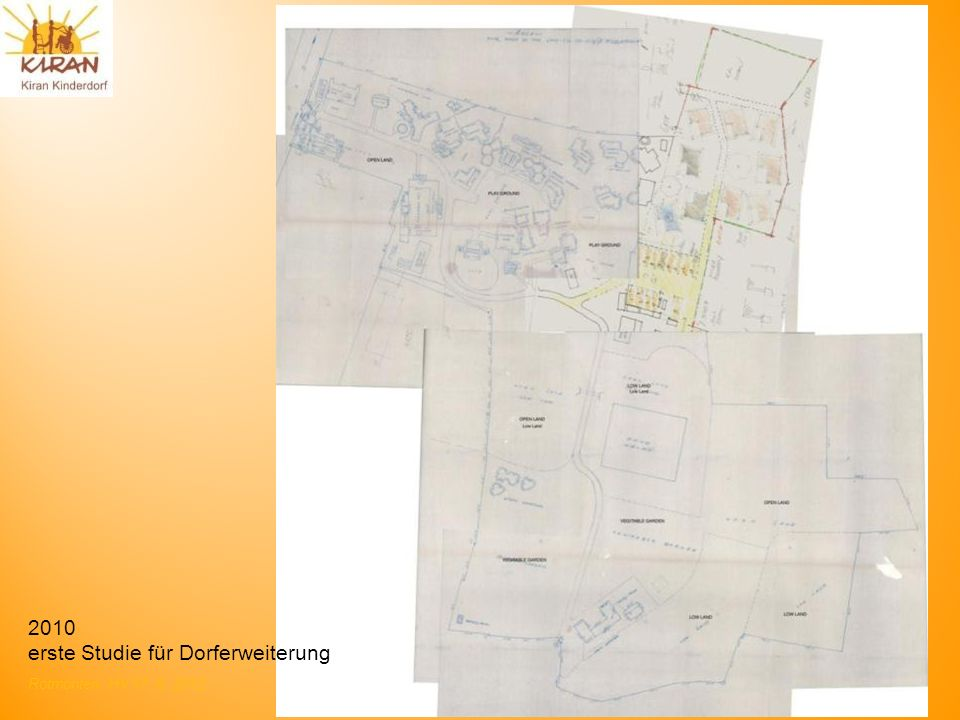 2010 erste Studie für Dorferweiterung