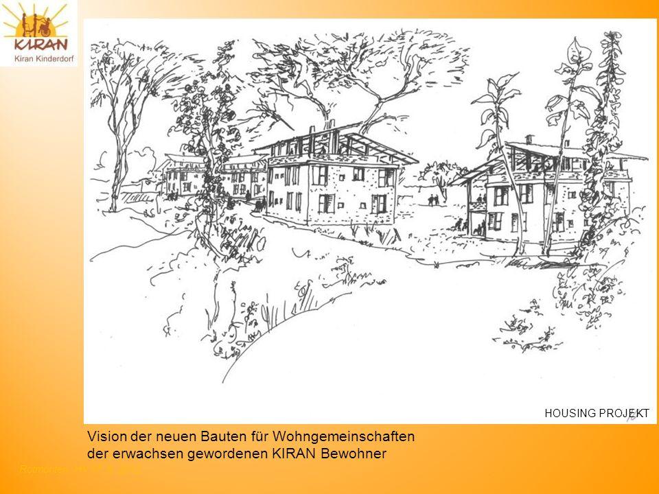 Vision der neuen Bauten für Wohngemeinschaften