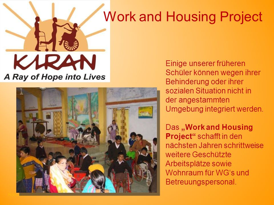 Work and Housing Project