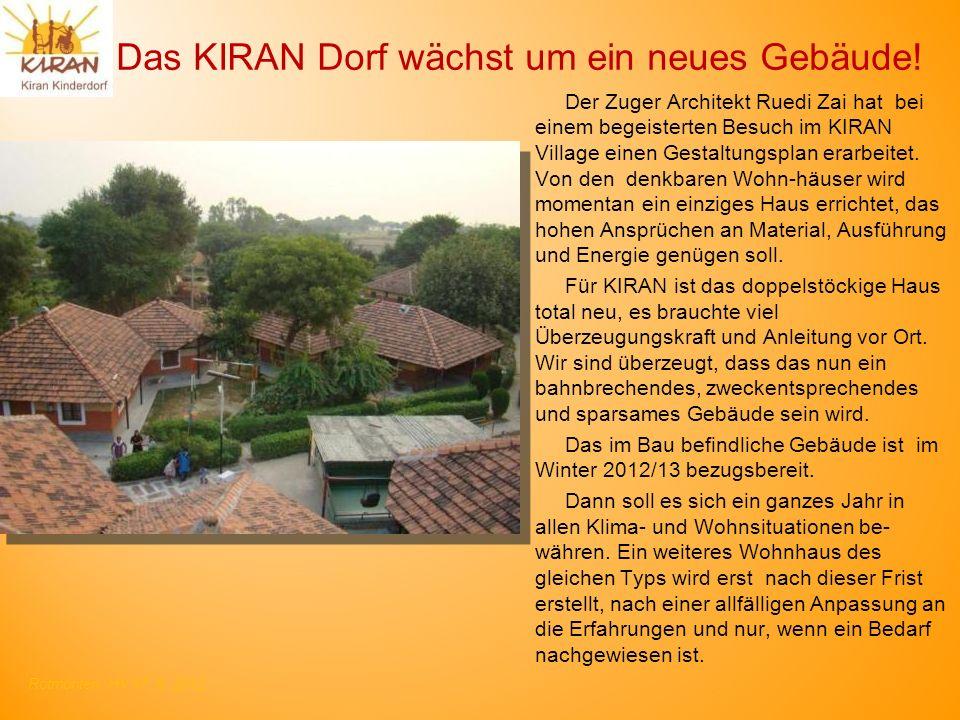 Das KIRAN Dorf wächst um ein neues Gebäude!