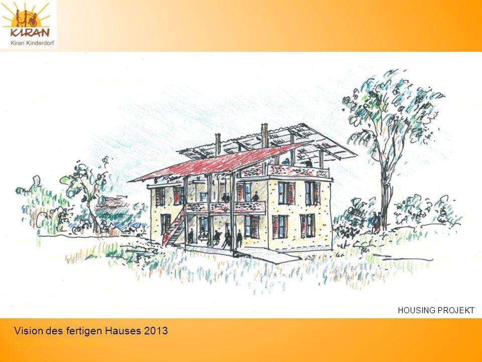 Vision des fertigen Hauses 2013