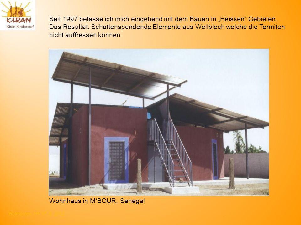"""Seit 1997 befasse ich mich eingehend mit dem Bauen in """"Heissen Gebieten."""