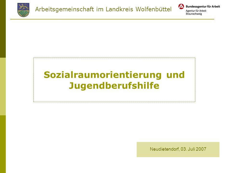 Sozialraumorientierung und Jugendberufshilfe