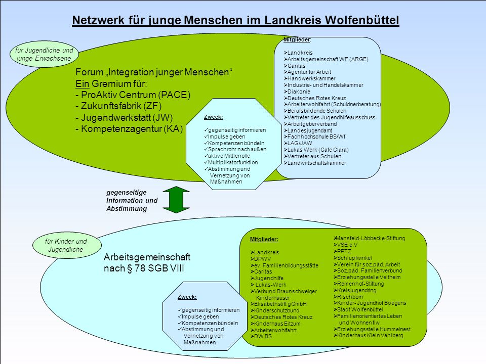 Netzwerk für junge Menschen im Landkreis Wolfenbüttel