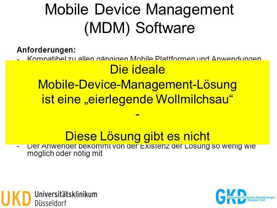 Mobile Device Management (MDM) Software