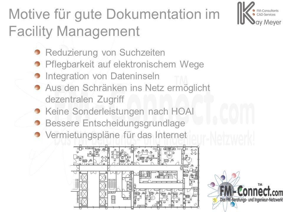Motive für gute Dokumentation im Facility Management