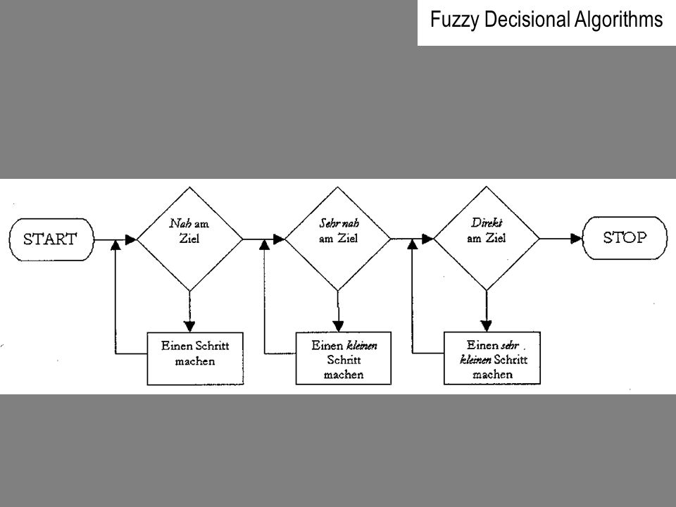 Fuzzy Decisional Algorithms