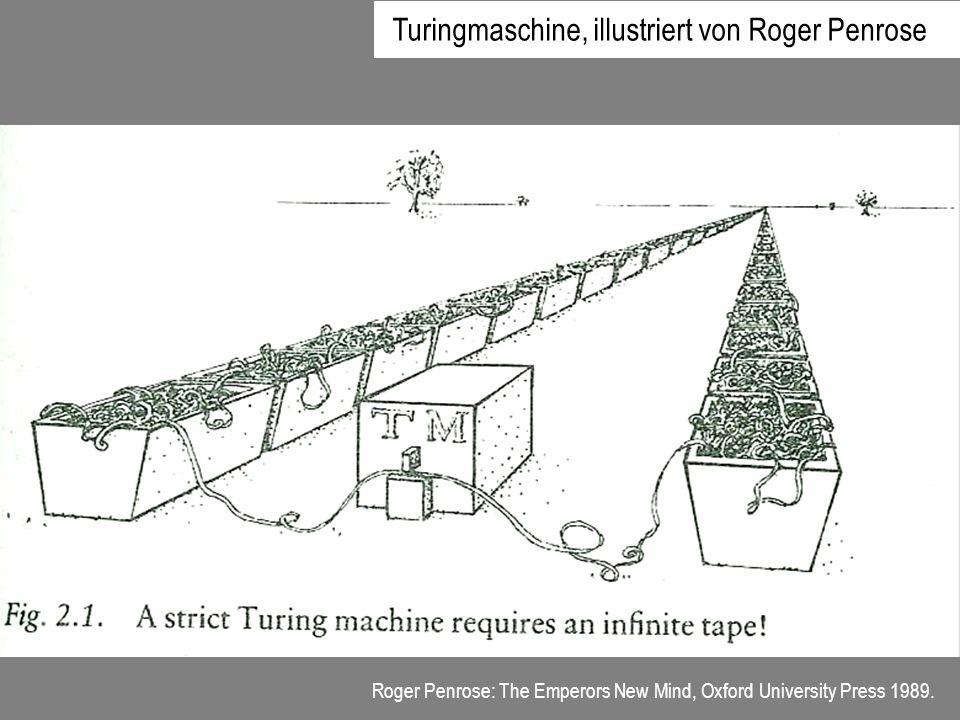 Turingmaschine, illustriert von Roger Penrose