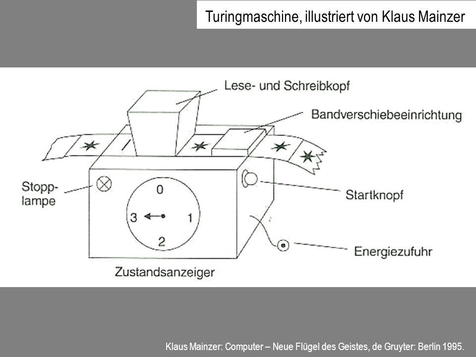 Turingmaschine, illustriert von Klaus Mainzer