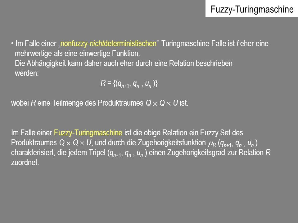 Fuzzy-Turingmaschine