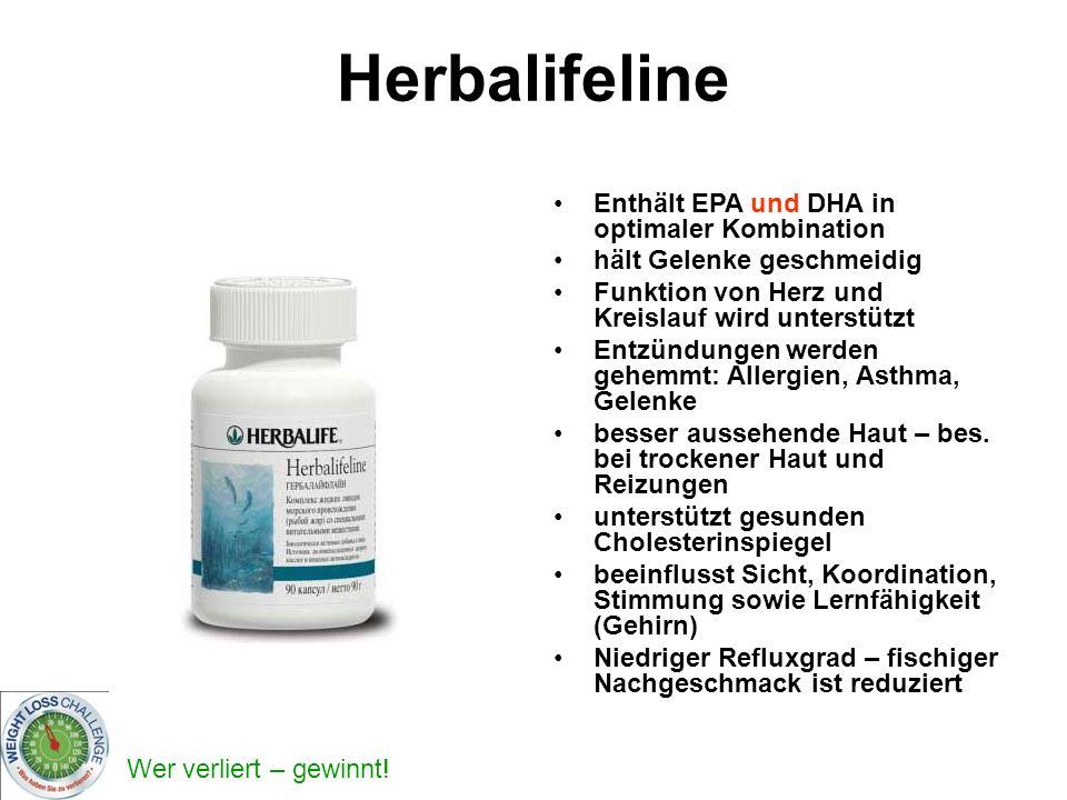 Herbalifeline Enthält EPA und DHA in optimaler Kombination