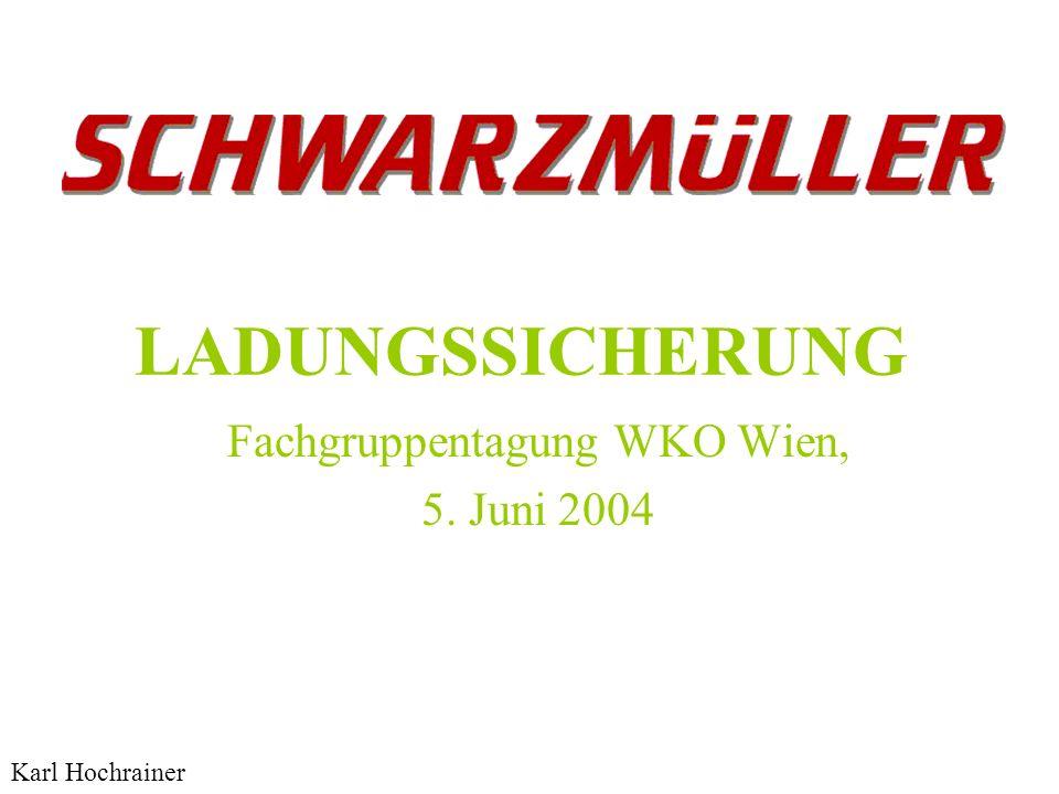 Fachgruppentagung WKO Wien, 5. Juni 2004