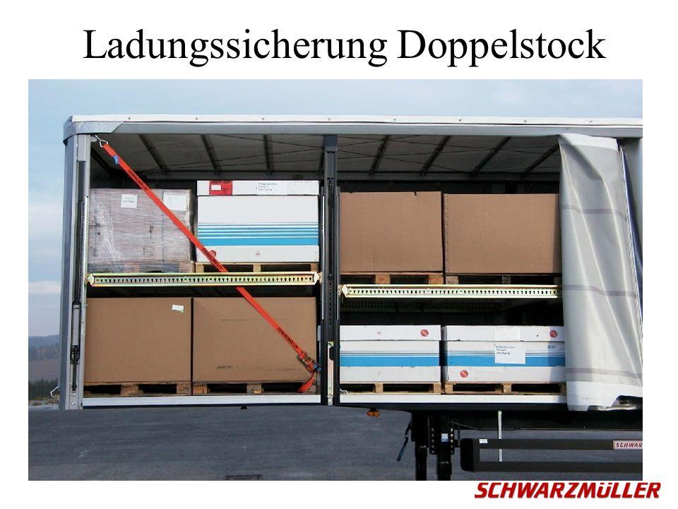 Ladungssicherung Doppelstock