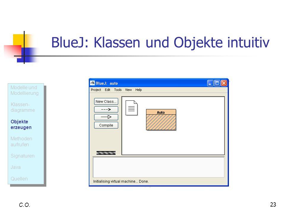 BlueJ: Klassen und Objekte intuitiv