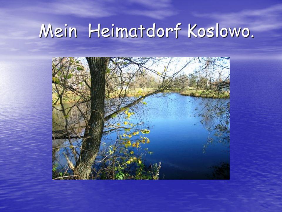 Mein Heimatdorf Koslowo.