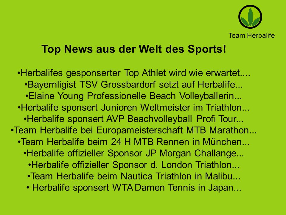Top News aus der Welt des Sports!