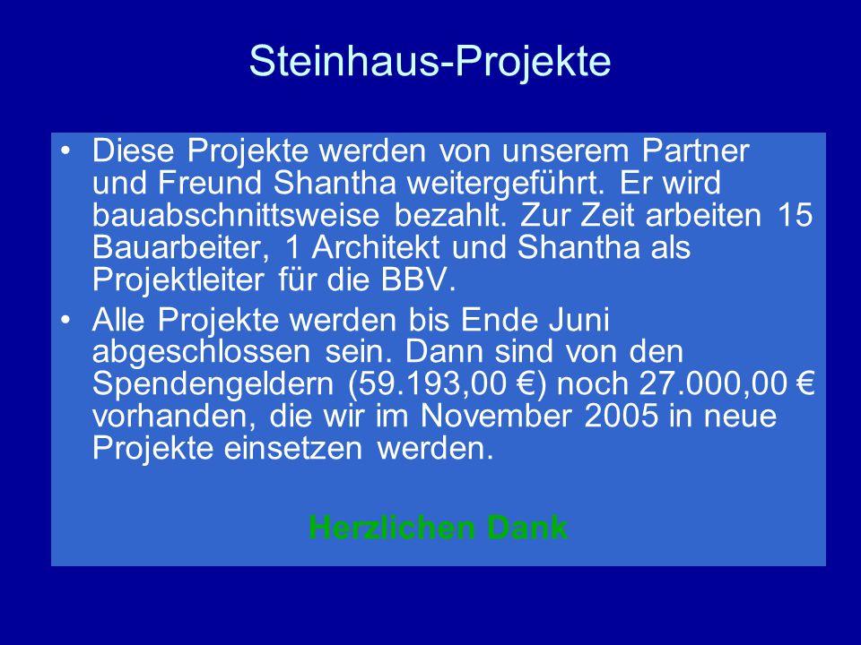 Steinhaus-Projekte