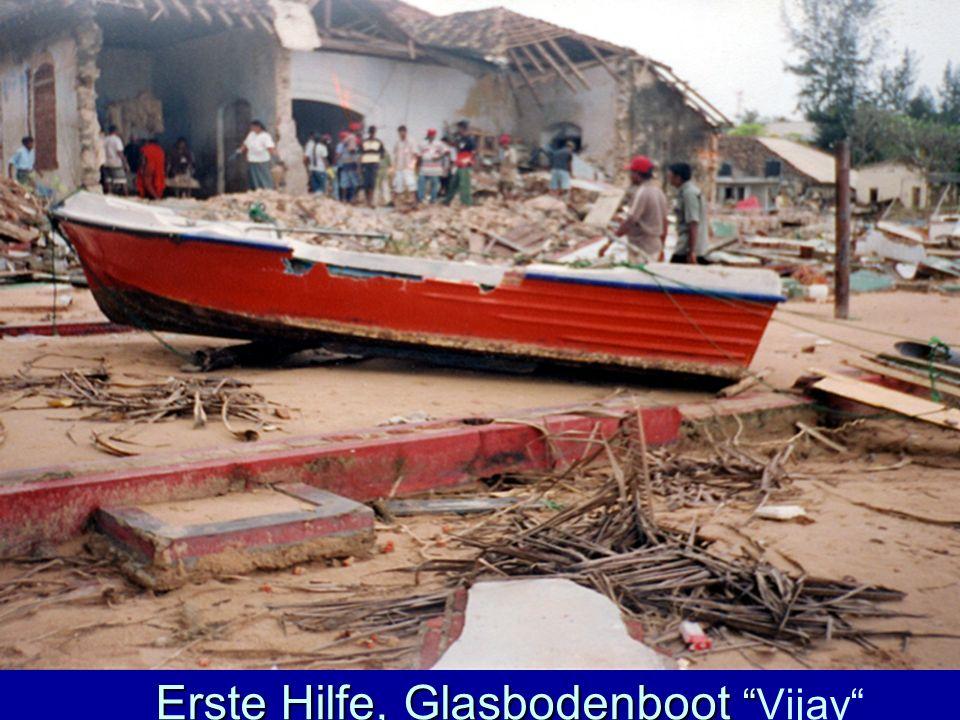 Erste Hilfe, Glasbodenboot Vijay