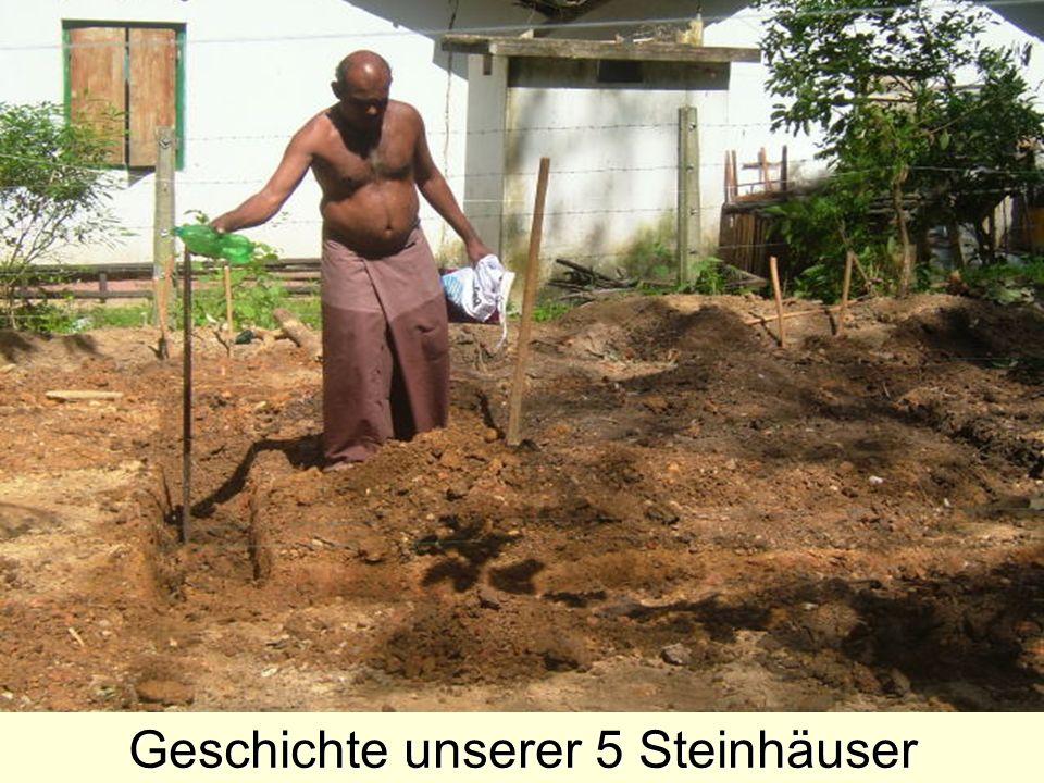 Geschichte unserer 5 Steinhäuser
