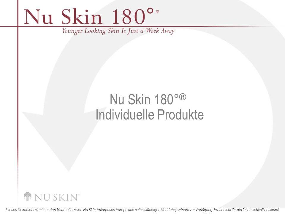 Nu Skin 180°® Individuelle Produkte