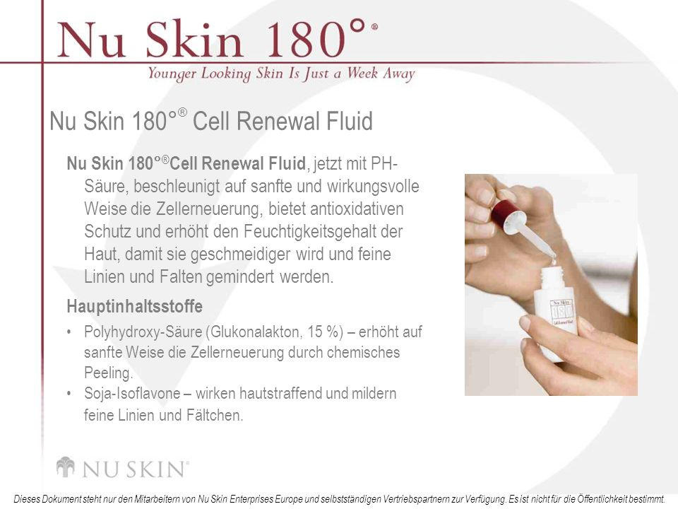 Nu Skin 180°® Cell Renewal Fluid