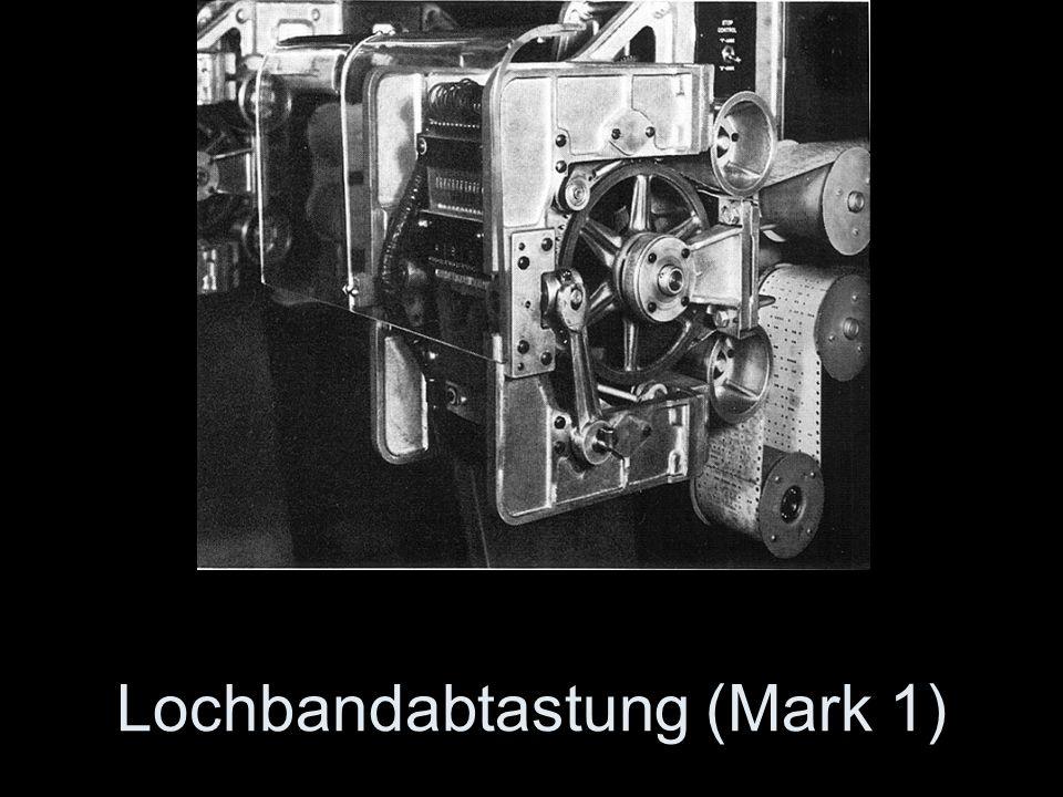 Lochbandabtastung (Mark 1)