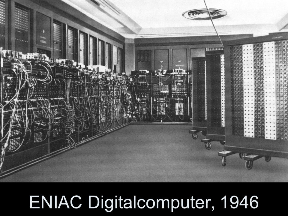 ENIAC Digitalcomputer, 1946