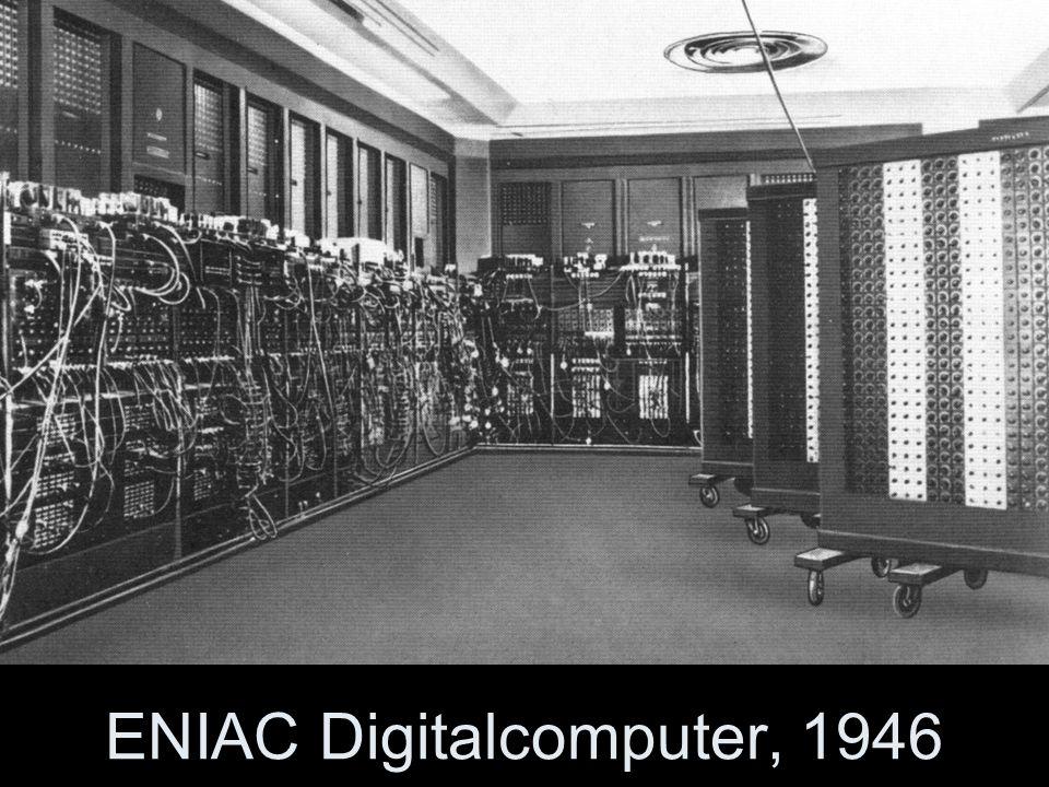 ENIAC Digitalcomputer, 1946