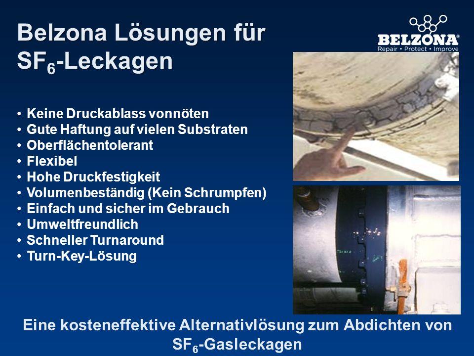 Belzona Lösungen für SF6-Leckagen