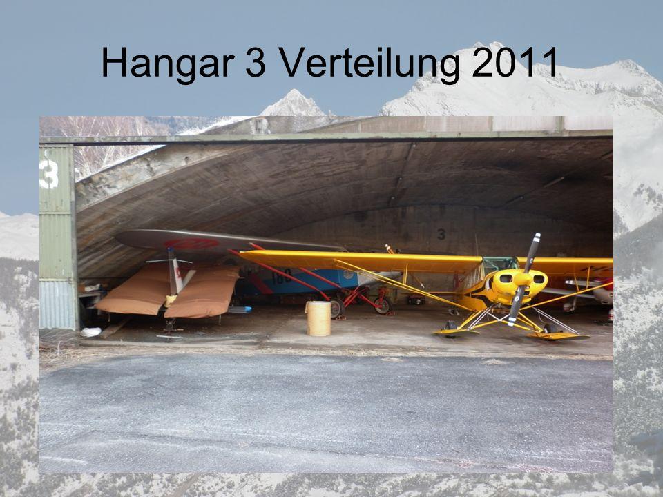 Hangar 3 Verteilung 2011