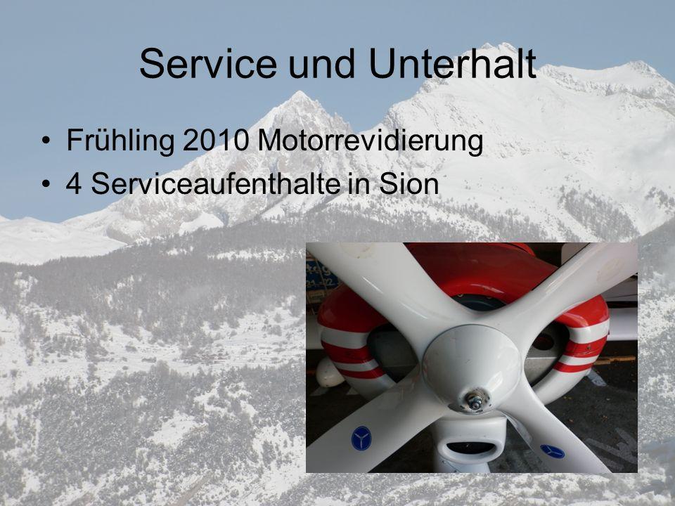 Service und Unterhalt Frühling 2010 Motorrevidierung
