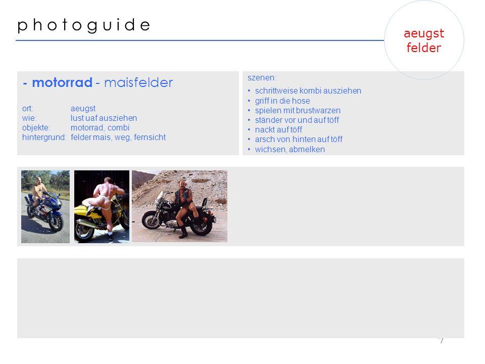 - motorrad - maisfelder