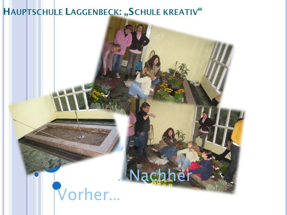 "Hauptschule Laggenbeck: ""Schule kreativ"