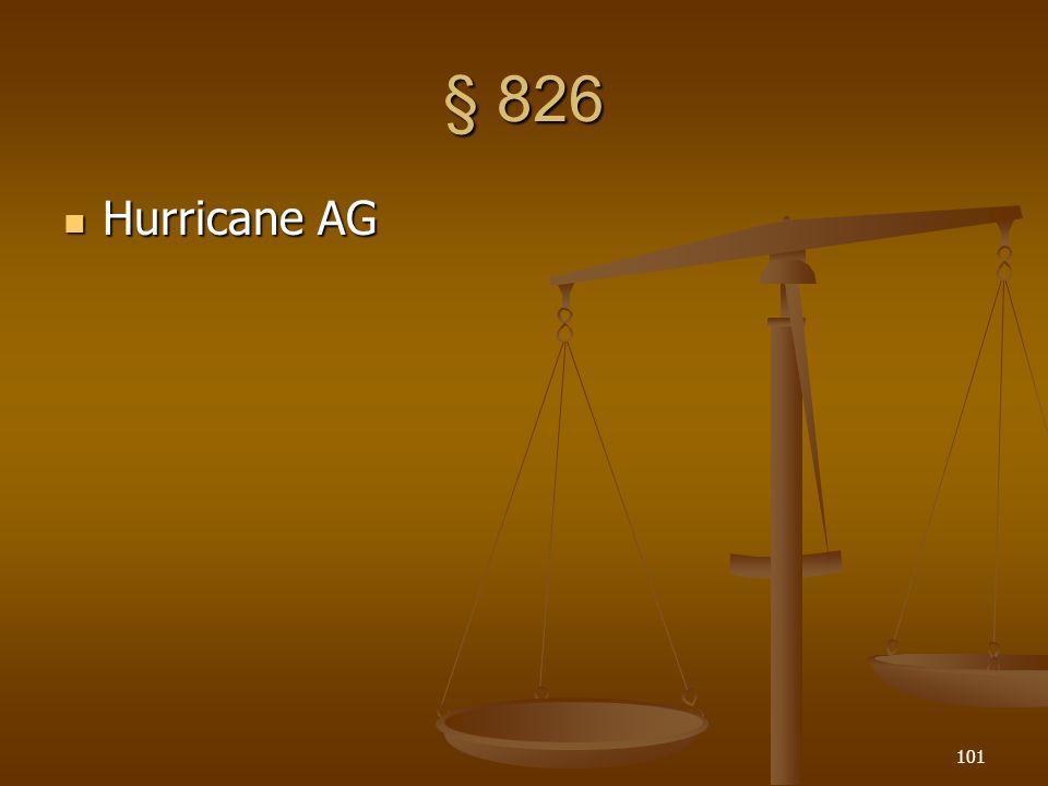 § 826 Hurricane AG