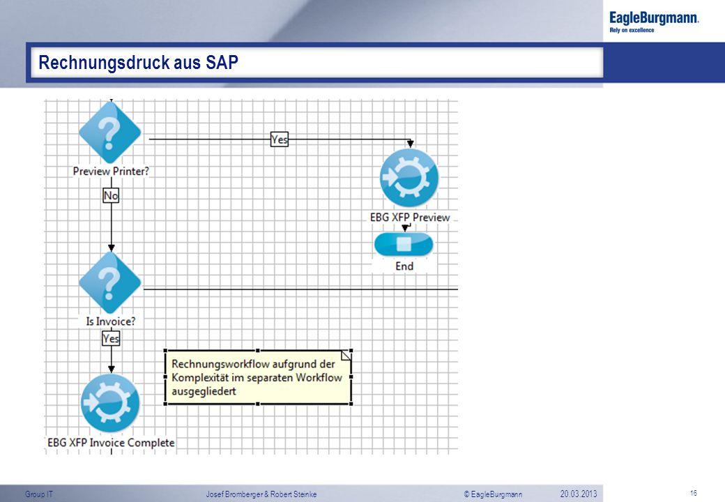 Rechnungsdruck aus SAP